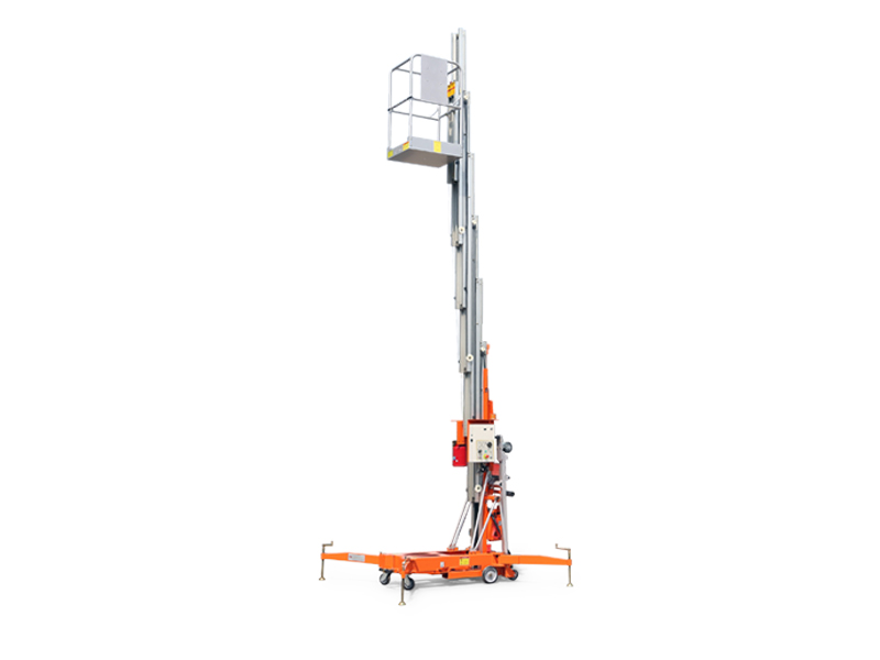 鼎力GTWY12.5-1300移動桅柱式高空作業平臺(旋腿式)高清圖 - 外觀