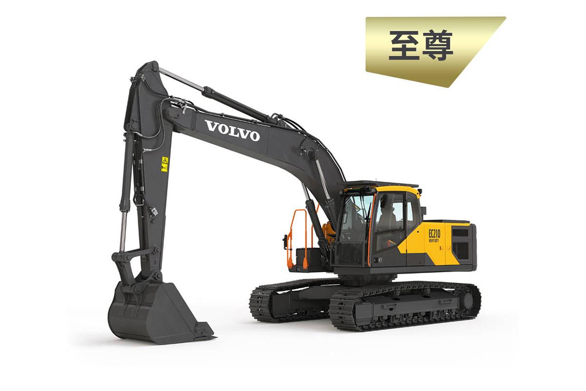 沃尔沃EC210 HEAVY DUTY挖掘机高清图 - 外观