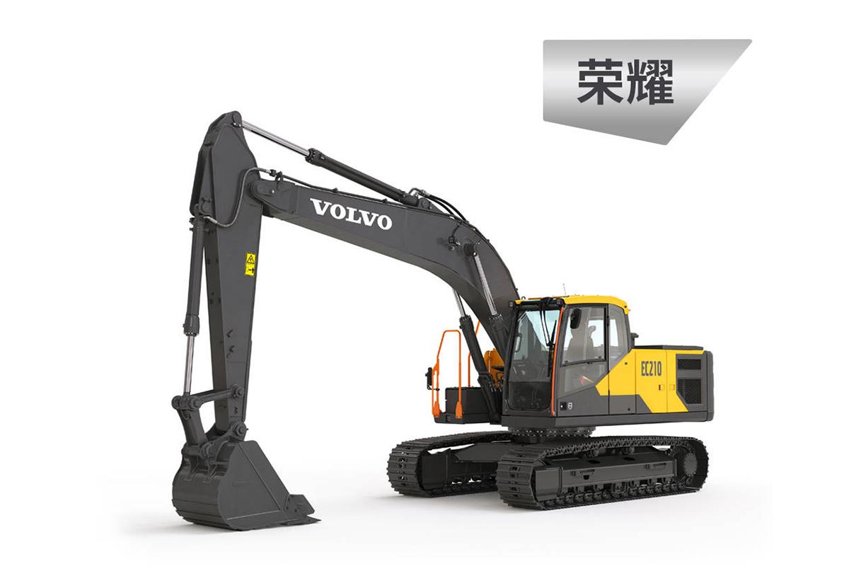 沃尔沃EC210荣耀系列 全新挖掘机高清图 - 外观