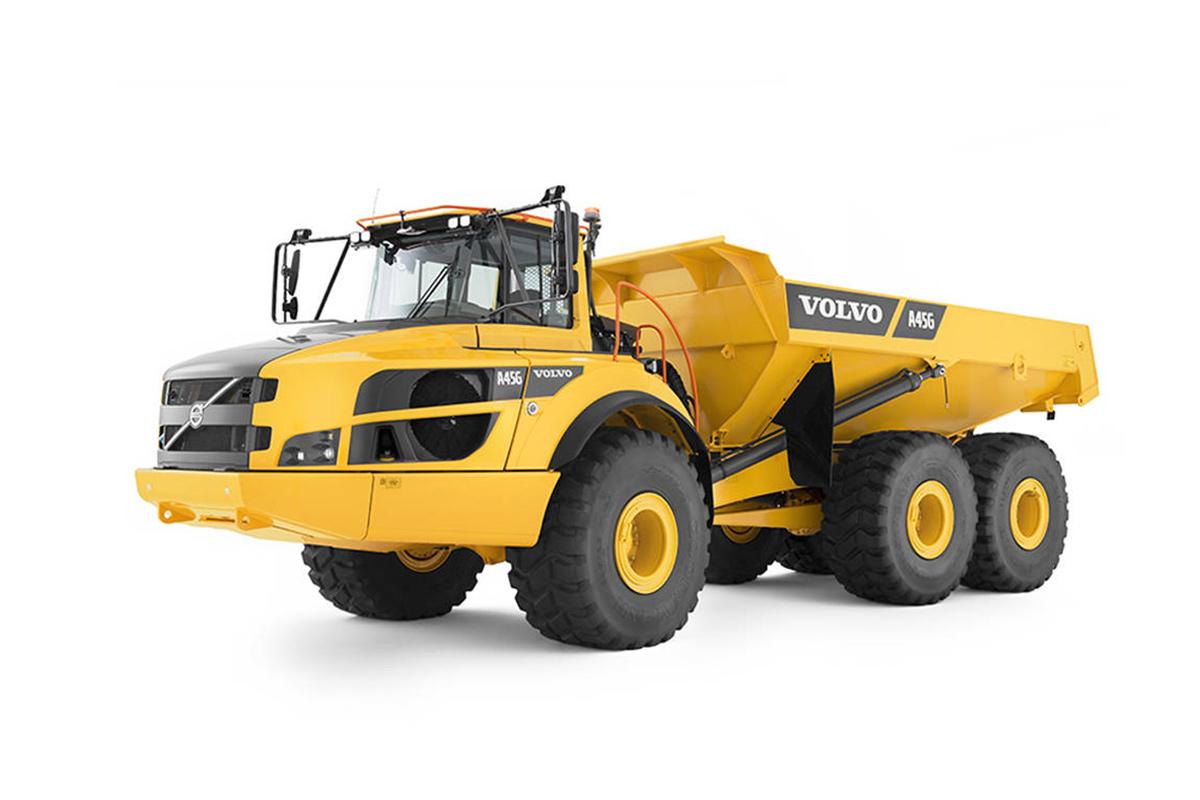 沃尔沃A45G铰接式卡车高清图 - 外观