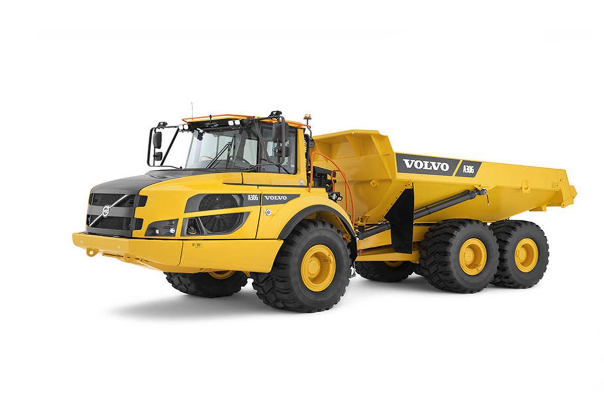 沃尔沃A30G铰接式卡车高清图 - 外观