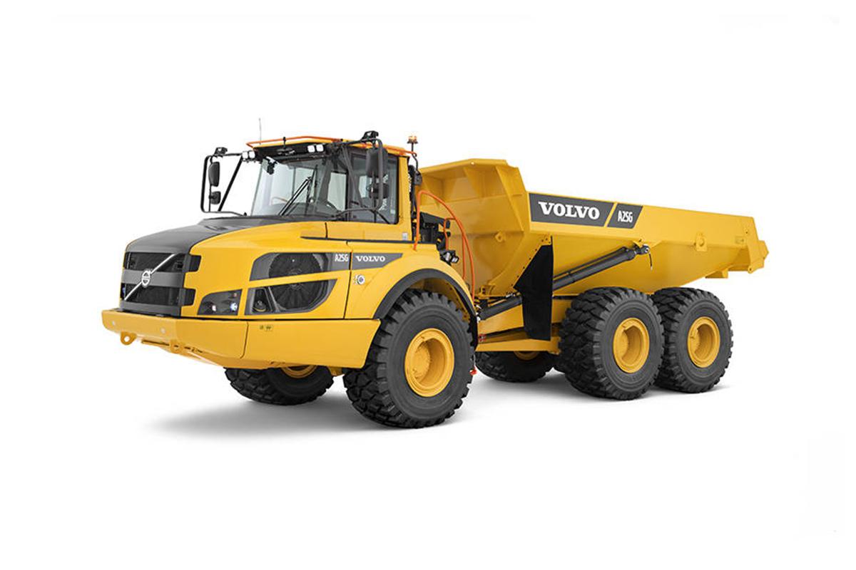 沃尔沃A25G铰接式卡车高清图 - 外观