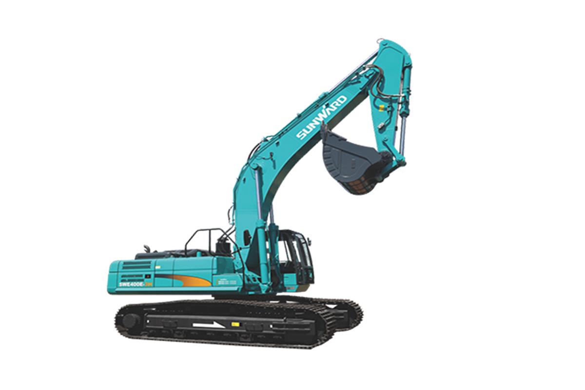 山河智能SWE400E-3H大型挖掘机高清图 - 外观