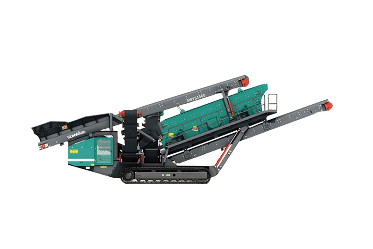 山河智能SWYS1560履带式筛分站高清图 - 外观