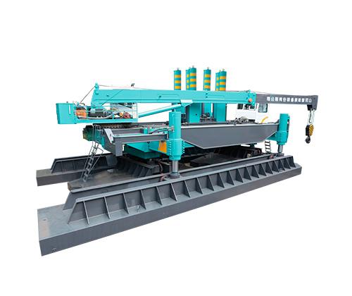 山河智能ZYJ1260B-3液壓靜力壓樁機高清圖 - 外觀