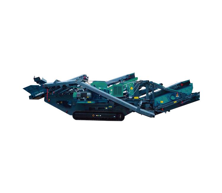 山河智能SWYPY300履帶式圓錐式破碎站高清圖 - 外觀