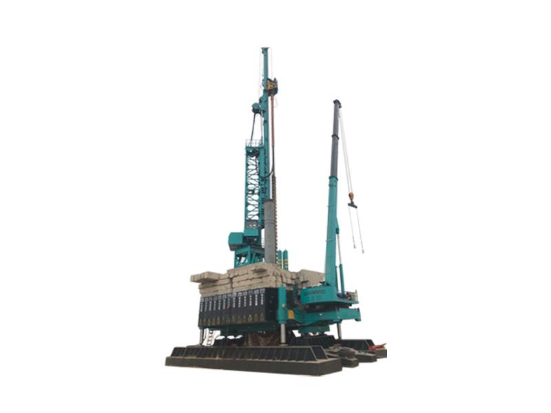 山河智能ZYJ1260BK引孔式靜力壓樁機高清圖 - 外觀