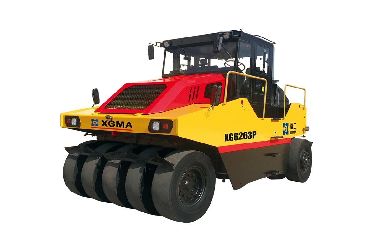 厦工XG6263P全液压轮胎辗高清图 - 外观