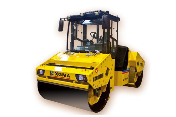 厦工XG614DH双钢轮振动压路机