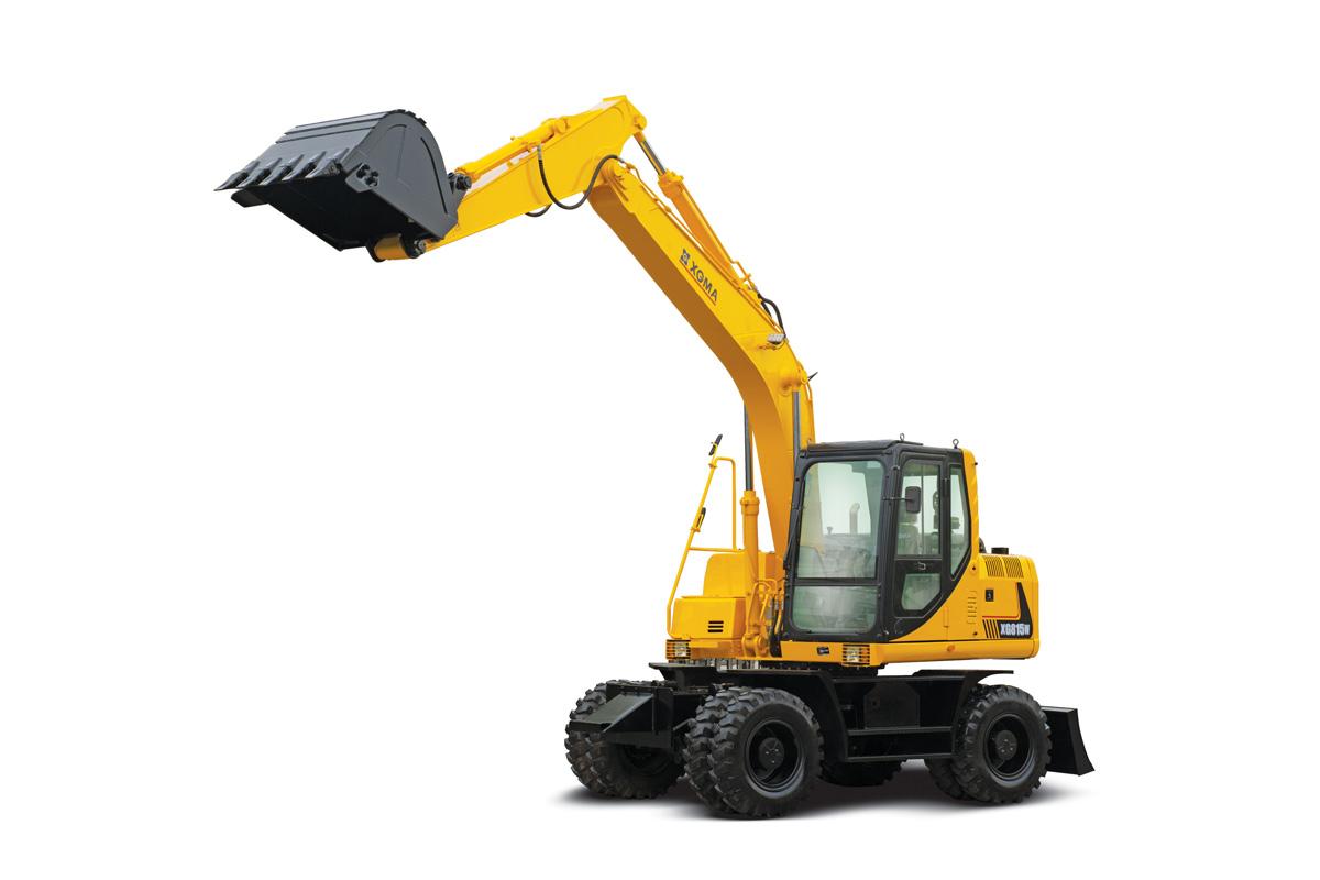 廈工XG815W輪式挖掘機高清圖 - 外觀