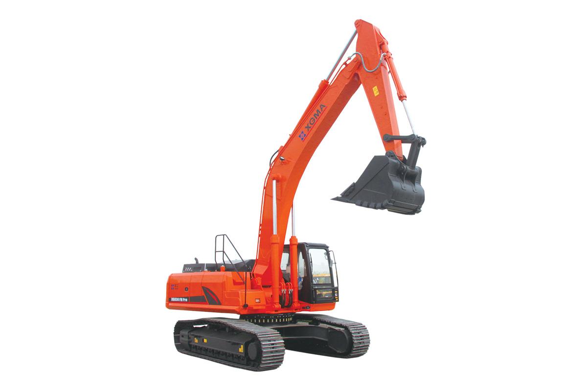 厦工XG836FH挖掘机高清图 - 外观