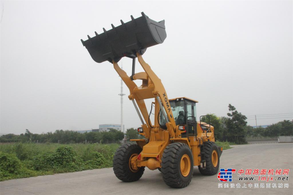厦工XG955N轮式装载机高清图 - 外观
