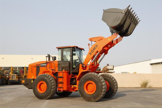 厦工XG968N轮式装载机高清图 - 外观