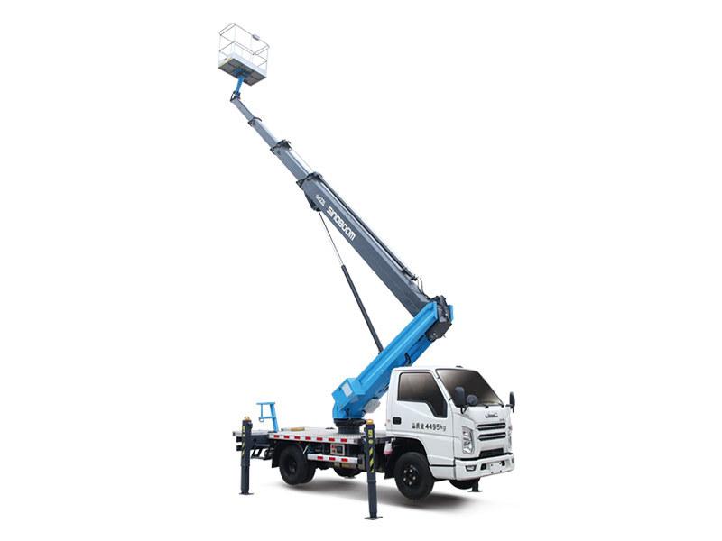 星邦智能GKS22L22米伸缩臂高空作业车