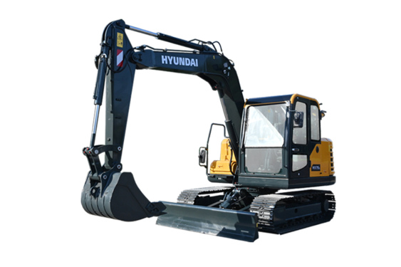 现代重工HX75/D小型挖掘机