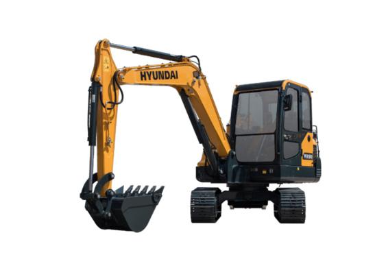 现代重工HX60小型挖掘机