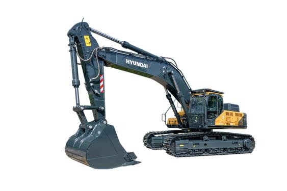 现代重工R550LVS中大型挖掘机
