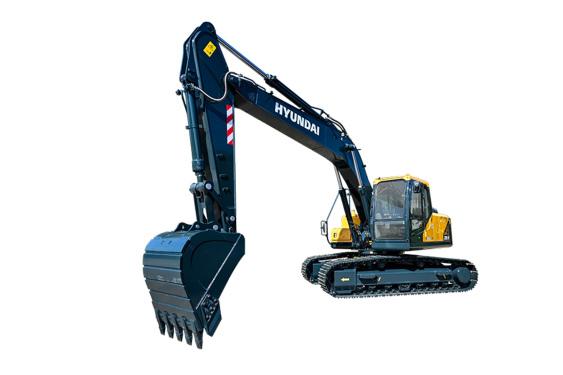 现代重工R205VS中大型挖掘机