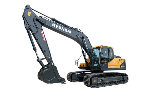 现代重工R225LVS中大型挖掘机