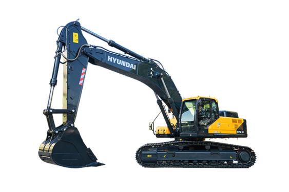 现代重工R375LVS中大型挖掘机