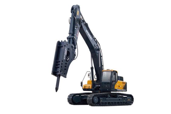 现代495L VS挖掘机高清图 - 外观
