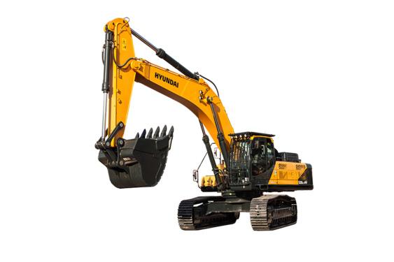 现代重工R520L -9VS中大型挖掘机
