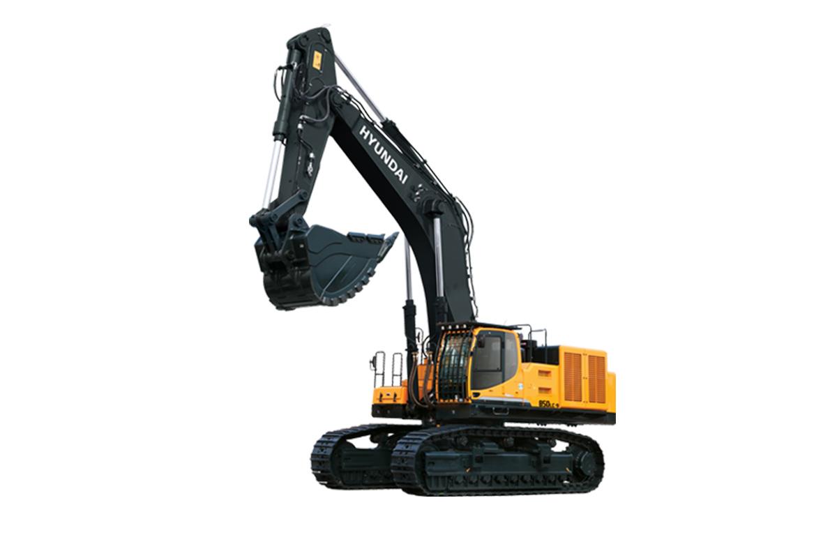 现代重工R850L -9VS挖掘机高清图 - 外观