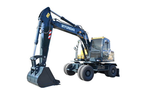 现代重工R150WVS PRO轮式挖掘机