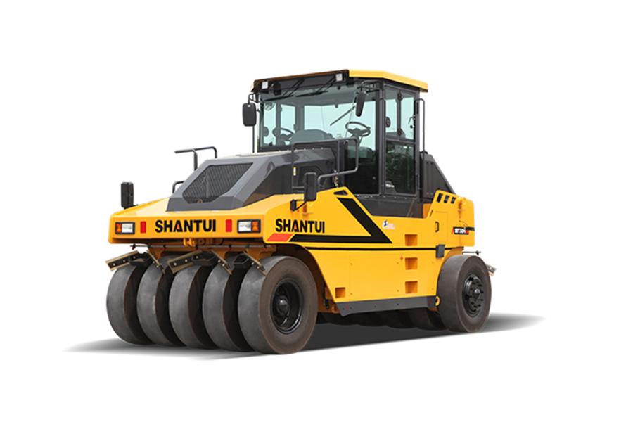 山推SRT30H-C6轮胎压路机