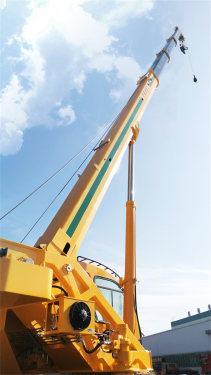 森源重工国六12吨 4节臂起重机汽车起重机高清图 - 外观
