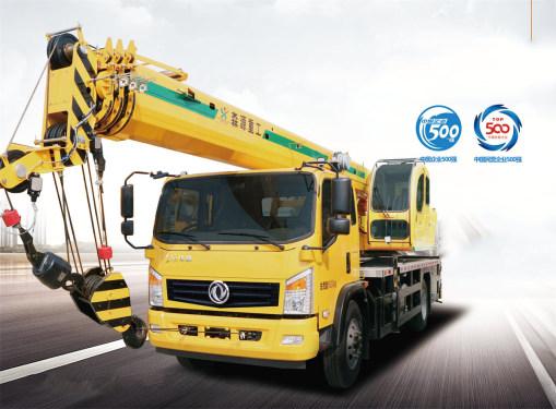 森源重工国六12吨 4节臂起重机汽车起重机