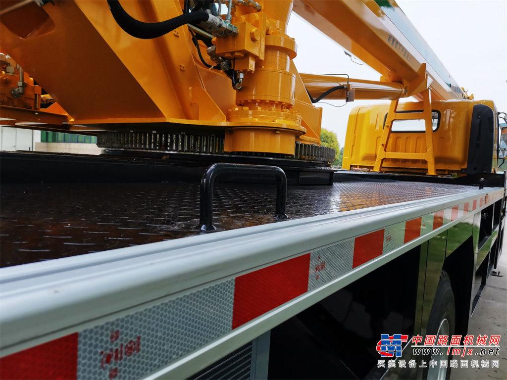 森源重工國六12噸 4節臂起重機汽車起重機高清圖 - 外觀