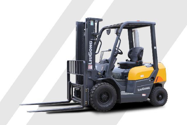 柳工CLG2025G内燃平衡重式叉车高清图 - 外观