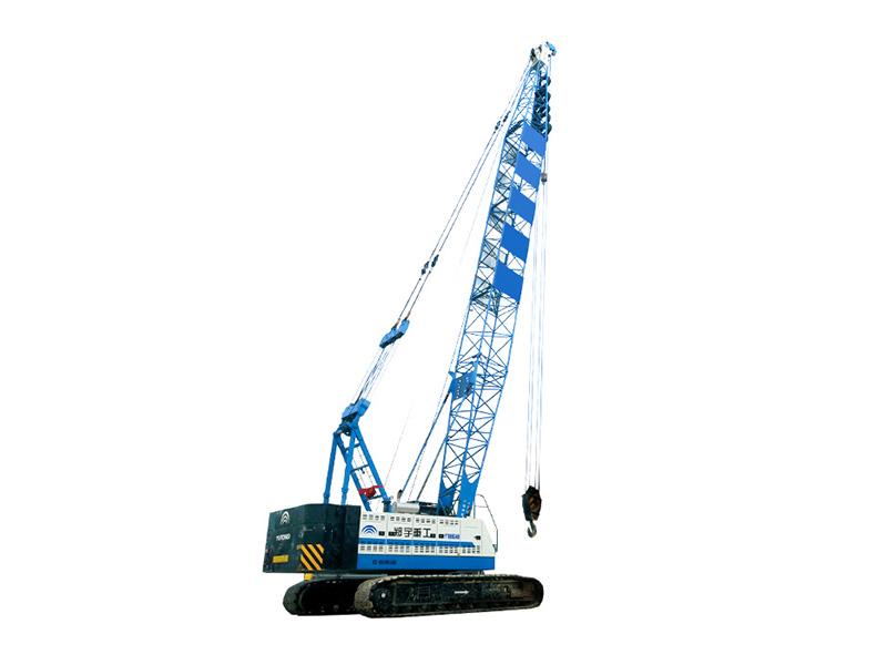 宇通重工YTQU55B基础施工专用履带吊高清图 - 外观