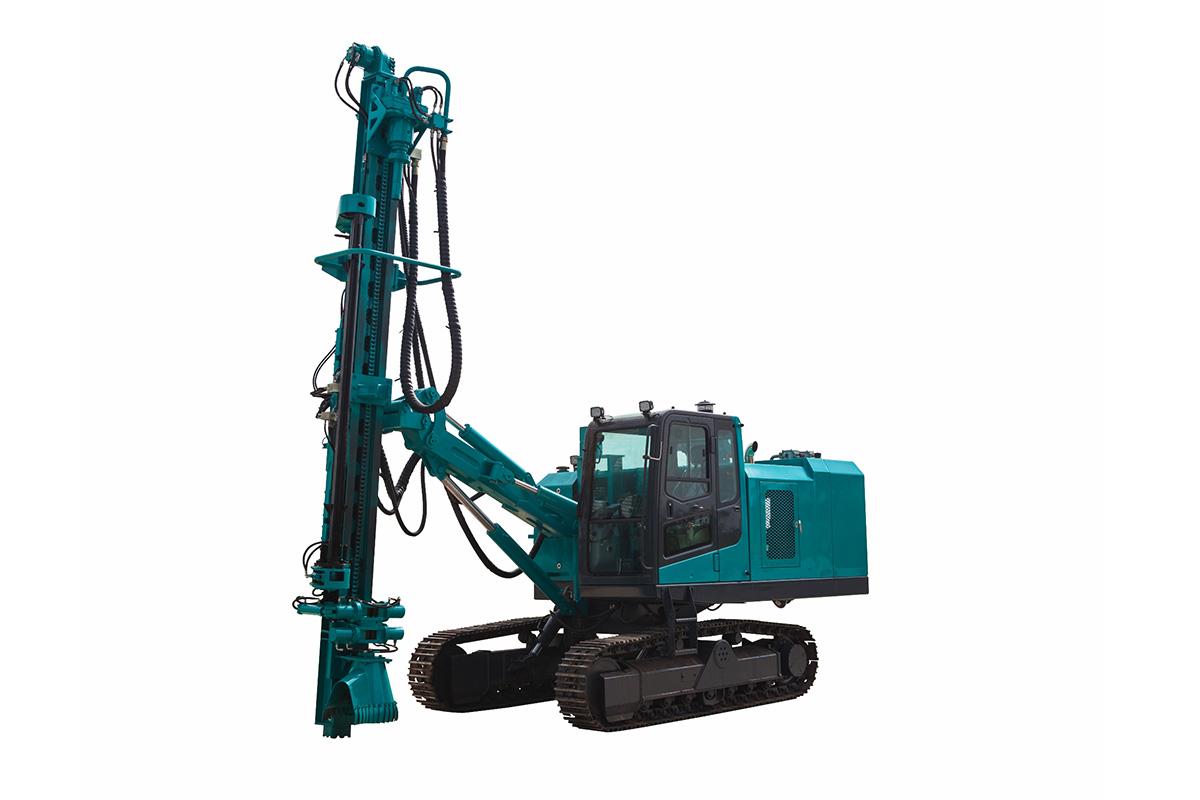 山河智能SWDE138B一体化潜孔钻机高清图 - 外观