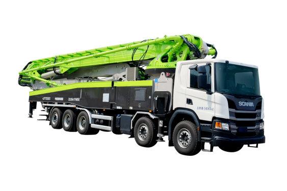 中联重科ZLJ5540THBSF 67X-6RZ5桥67米泵车