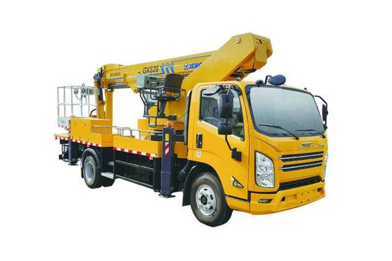 徐工XGS5102JGKJ625米伸缩臂高空作业车