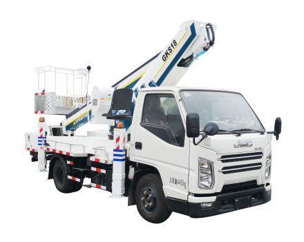 徐工XGS5041JGKJ618米蓝牌 伸缩臂高空作业车