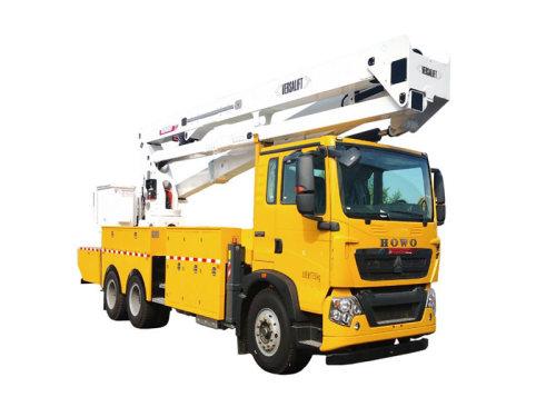 徐工XGS5180JGKZ625米绝缘臂高空作业车 绝缘斗臂车