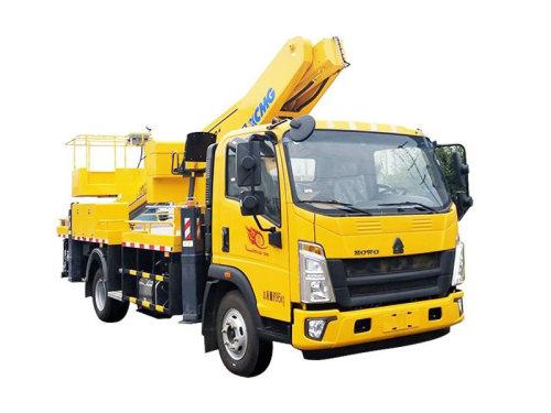 徐工XGS5080JGKZ621米伸缩臂高空作业车