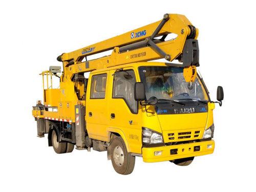 徐工XGS5067JGKQ614米折叠臂高空作业车