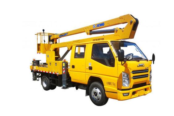 徐工XGS5050JGKJ612米折叠臂高空作业车