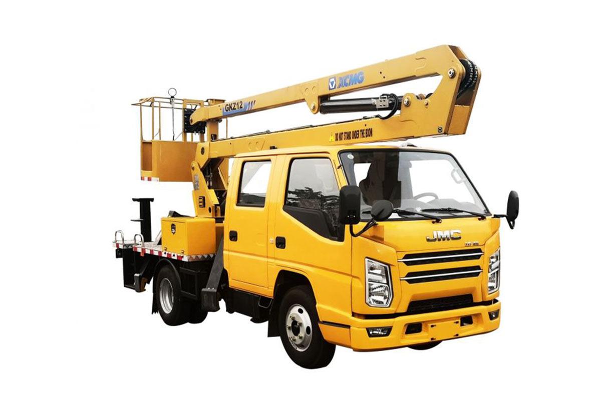 徐工XGS5042JGKJ612米折疊臂高空作業車高清圖 - 外觀