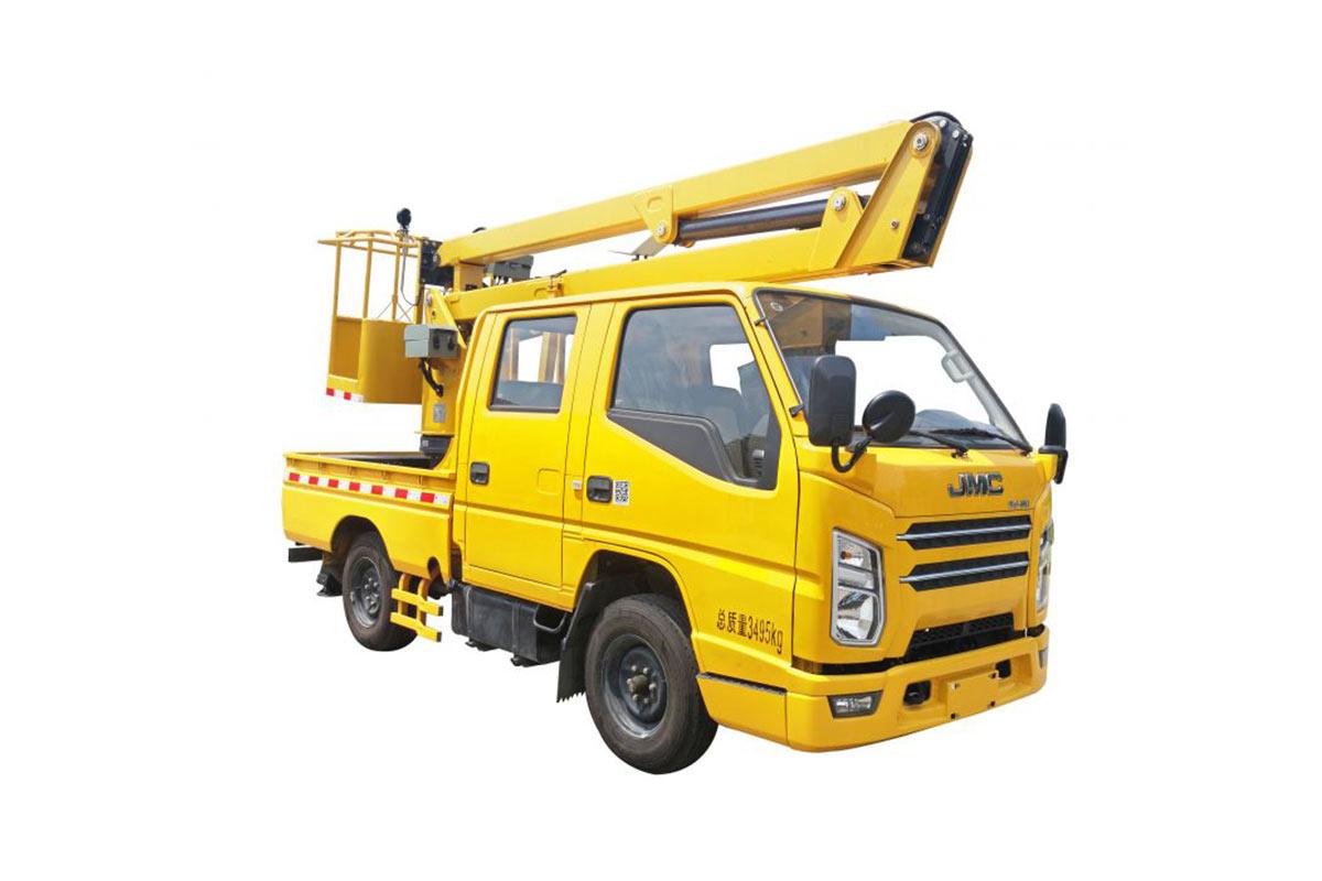 徐工XGS5030JGKJ612米折疊臂高空作業車高清圖 - 外觀