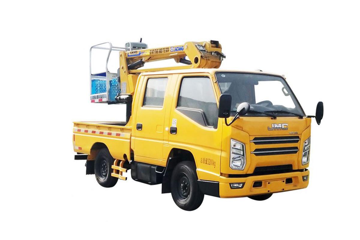 徐工XGS5031JGKJ69米混合臂高空作業車高清圖 - 外觀