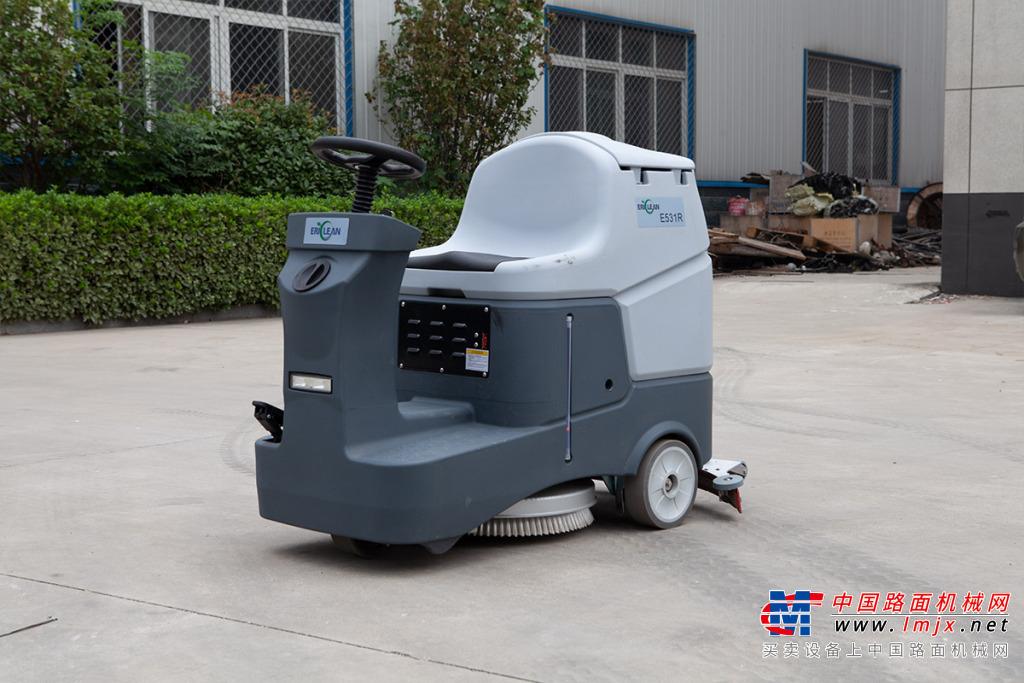 宜迅E531R驾驶式洗地机高清图 - 外观
