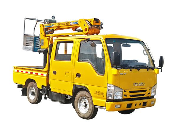 徐工XGS5032JGKQ69米混合臂高空作業車高清圖 - 外觀