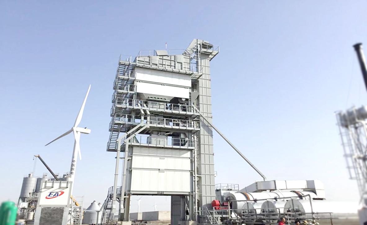 歐亞機械EA 4000/4500瀝青混和料攪拌設備高清圖 - 外觀
