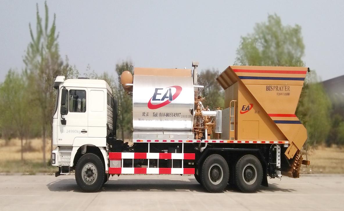 欧亚机械EA5250TFCMC4C1 (国VI)纤维同步封层车高清图 - 外观
