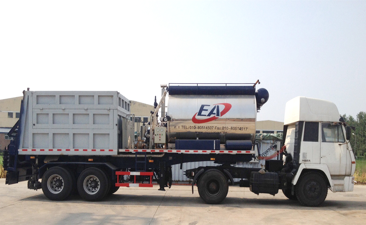 欧亚机械EA9280TFC同步碎石封层车高清图 - 外观